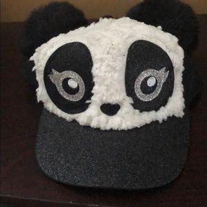 Girls Justice Panda Cap/hat